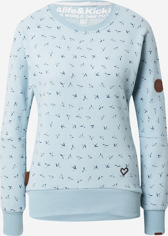 Sweat-shirt 'Darla' Alife and Kickin en bleu
