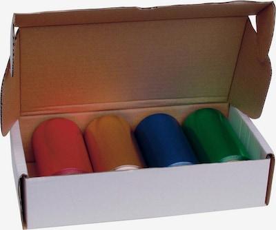 Efalock Professional Alu-Strähnenfolie-Set in blau / gelb / grün / rot, Produktansicht