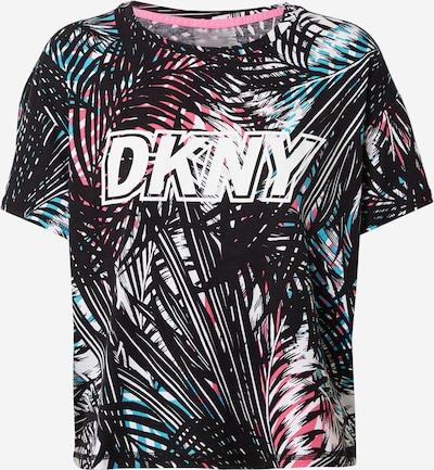 DKNY Performance Majica u tirkiz / roza / crna / bijela, Pregled proizvoda