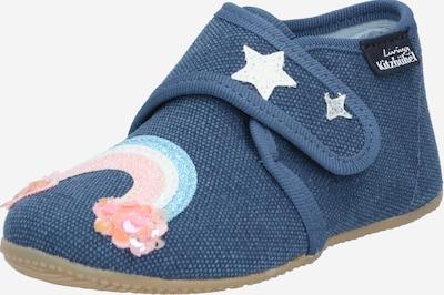 Living Kitzbühel Pirmo soļu apavi zils džinss / debeszils / gaiši oranžs / gaiši rozā / balts, Preces skats