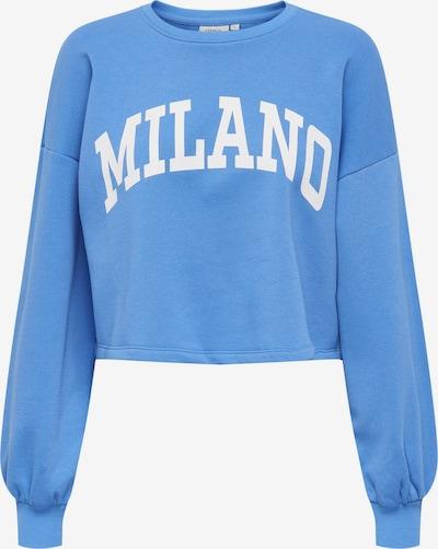 ONLY Sweatshirt 'SPENCER' in blau: Frontalansicht