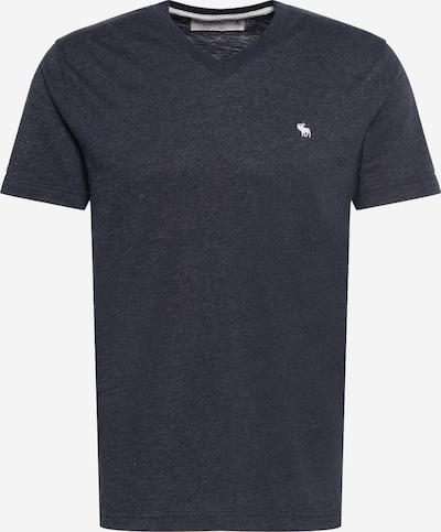 Abercrombie & Fitch Shirt in schwarzmeliert / weiß, Produktansicht