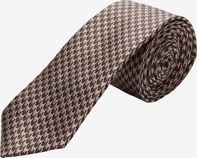 s.Oliver BLACK LABEL Krawatte in braun / cappuccino, Produktansicht