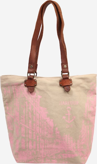 Plase de cumpărături 'Annen' Harbour 2nd pe maro / roz / roz pudră, Vizualizare produs
