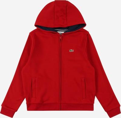 LACOSTE Sweatjacka i marinblå / röd, Produktvy