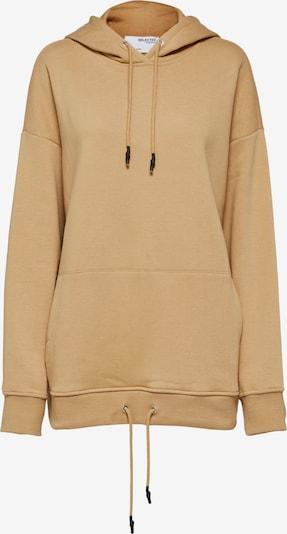 SELECTED FEMME Sweatshirt in beige, Produktansicht