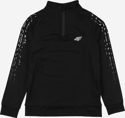 4F Shirt in schwarz / weiß, Produktansicht