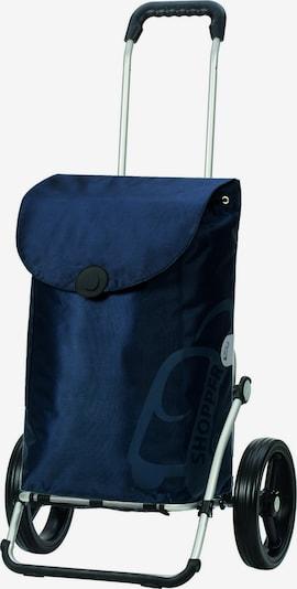 Andersen Shopper Einkaufstrolley 'Pepe' in blau, Produktansicht