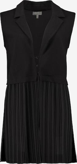 Ulla Popken Weste '750933' in schwarz, Produktansicht