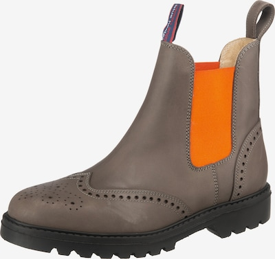Blue Heeler Chelsea Boots 'Connor' in grau / orange, Produktansicht