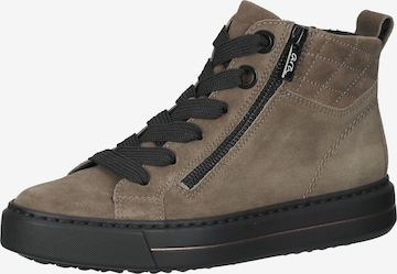 ARA High-Top Sneakers in Beige