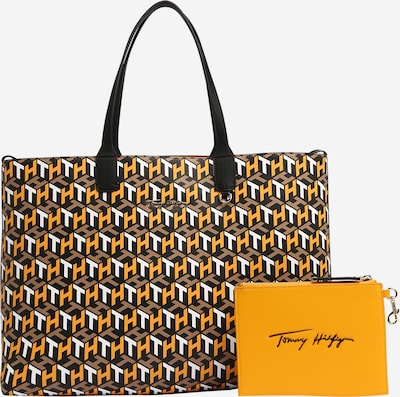 TOMMY HILFIGER Shopper - svetlohnedá / žltá / čierna / biela, Produkt