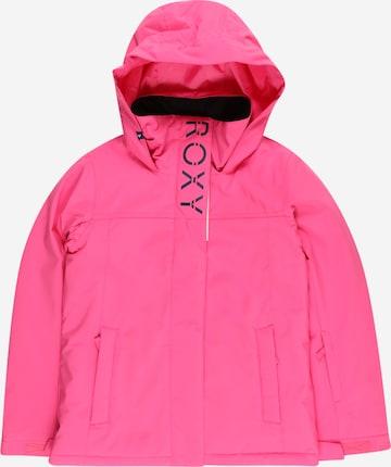 ROXY Sportjacke 'GALAXY' in Pink