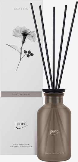 ipuro Raumduft 'Cachemire' in dunkelbraun / schwarz, Produktansicht
