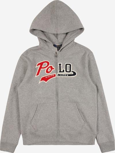 POLO RALPH LAUREN Veste de survêtement en gris chiné / mélange de couleurs, Vue avec produit