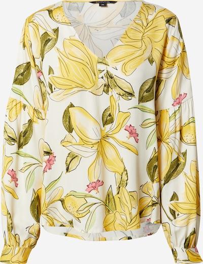 Bluză COMMA pe galben / verde / alb, Vizualizare produs