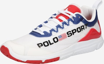 Sneaker low de la Polo Ralph Lauren pe alb
