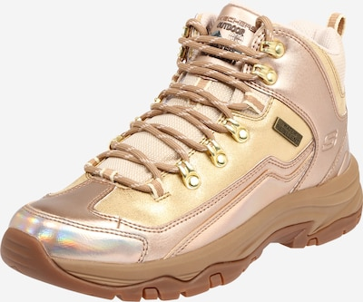 SKECHERS Sneaker low 'TREGO' i guld / rosenguld, Produktvisning
