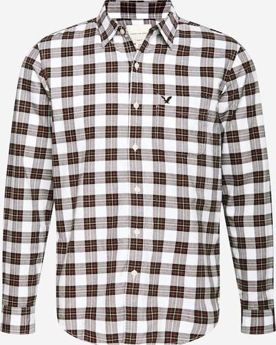 American Eagle Hemd in schwarz / weiß, Produktansicht