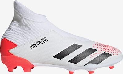 ADIDAS PERFORMANCE Predator Fußballschuh Kinder in hellrot / schwarz / weiß, Produktansicht