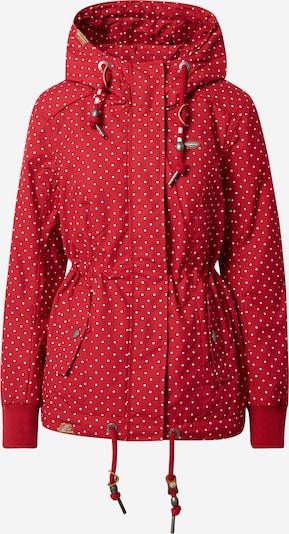 Ragwear Outdoorjas 'Danka' in de kleur Rood, Productweergave