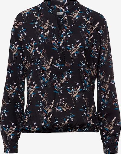 Cross Jeans Bluse in blau / braun / rot / schwarz / weiß, Produktansicht