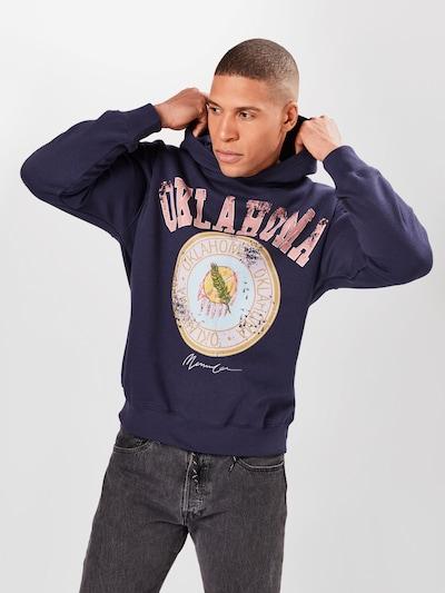 Mennace Bluzka sportowa 'OKLAHOMA' w kolorze granatowy / jasnoniebieski / żółty / koralowy / białym: Widok z przodu