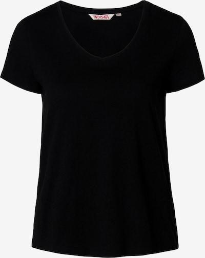Indiska T-Shirt 'Mathilda' in schwarz, Produktansicht