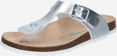 RICHTER Sandále 'Tecbuk' - strieborná: Pohľad spredu