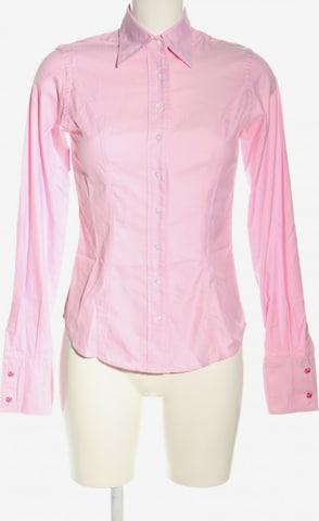TM Lewin Langarmhemd in XS in Pink