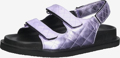 INUOVO Sandale in violettblau / schwarz, Produktansicht