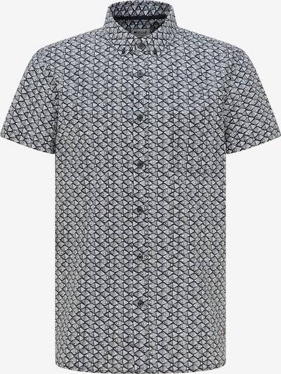 MUSTANG Hemd in grau / schwarz, Produktansicht