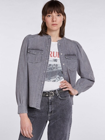 SET Blouse in Grey