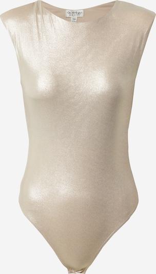Tricou body Miss Selfridge pe auriu, Vizualizare produs