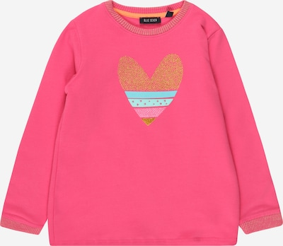 BLUE SEVEN Sweatshirt in Turquoise / Gold / Pink, Item view