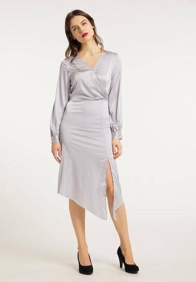 usha BLACK LABEL Kleid in silber, Modelansicht