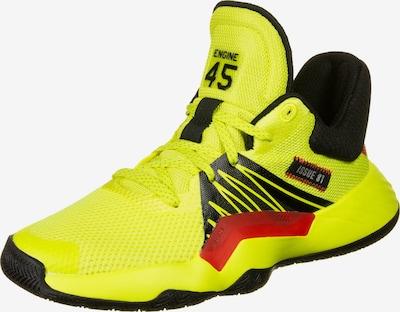 ADIDAS PERFORMANCE Basketballschuhe in gelb / rot / schwarz, Produktansicht