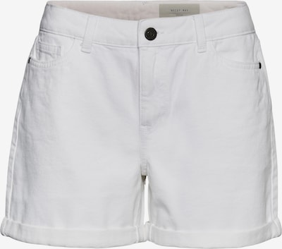 Noisy may Jean 'Smiley' en blanc denim, Vue avec produit