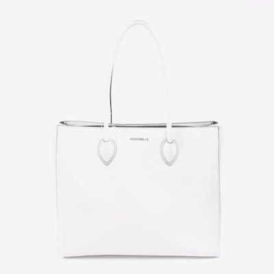 Coccinelle Schultertasche in M in weiß, Produktansicht