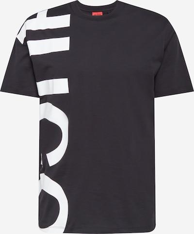 HUGO Koszulka 'DAWS211' w kolorze czarny / białym, Podgląd produktu
