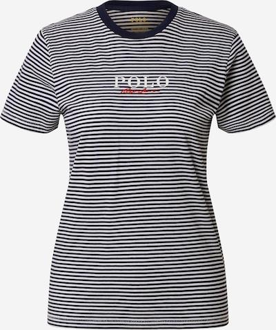 POLO RALPH LAUREN Majica u mornarsko plava / crvena / bijela, Pregled proizvoda