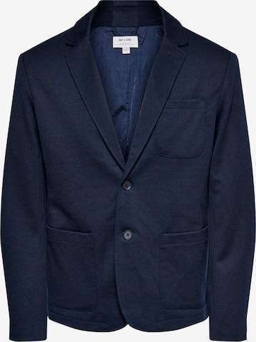 Veste de costume 'MARK' Only & Sons en bleu