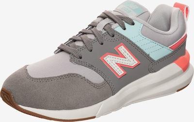 new balance Sneaker in grau / hellgrau / mint / pastellorange, Produktansicht