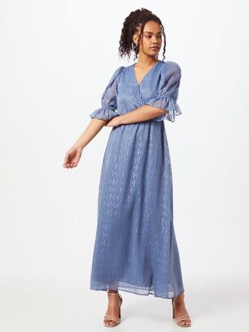 Neo Noir Cocktail Dress 'Venga' in Blue