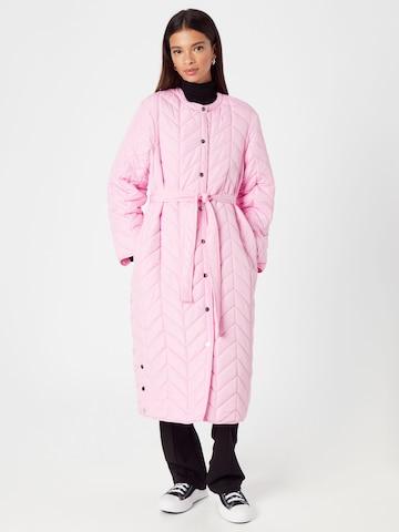 PIECESPrijelazni kaput 'FAWN' - roza boja