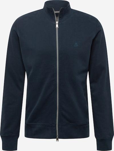 Marc O'Polo Sweatjacke in dunkelblau, Produktansicht