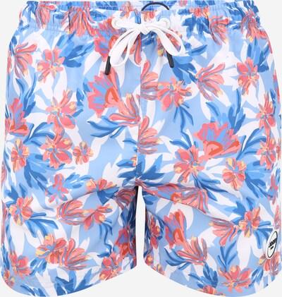 JOOP! Jeans Kratke kopalne hlače 'Laguna_Beach' | modra / temno modra / roza / bela barva, Prikaz izdelka
