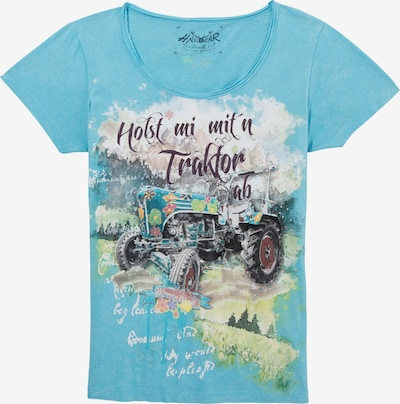 HANGOWEAR Shirt in türkis, Produktansicht