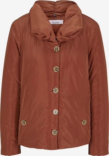 heine Overgangsjakke i rustbrun, Produktvisning
