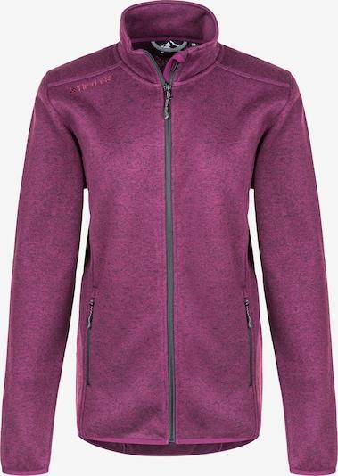 Whistler Fleecejacke Maleo W Melange Fleece Jacket in lila, Produktansicht